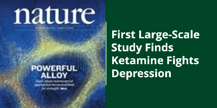 Article - Study on Ketamine for depression treatment, by Noah Heller.